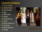 costume analysis