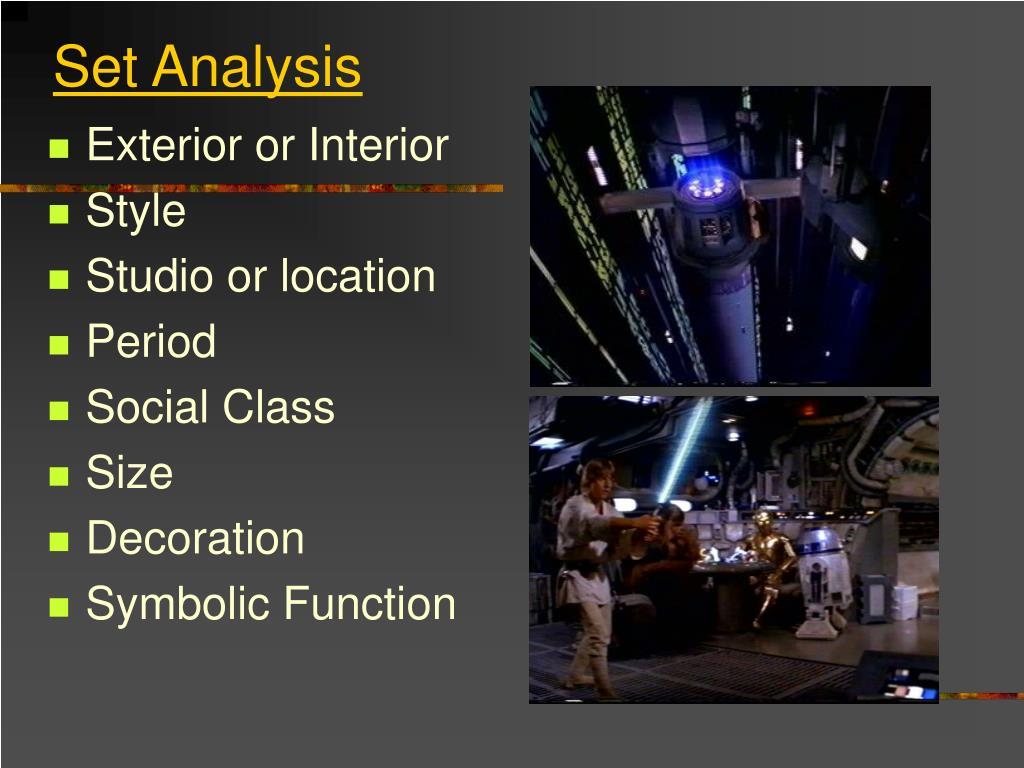 Set Analysis