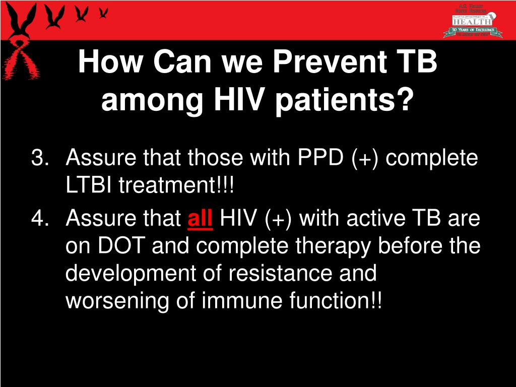 How Can we Prevent TB among HIV patients?