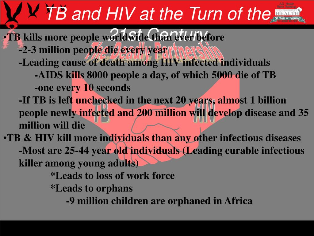 TB and HIV at the Turn of the 21st Century