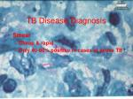 tb disease diagnosis