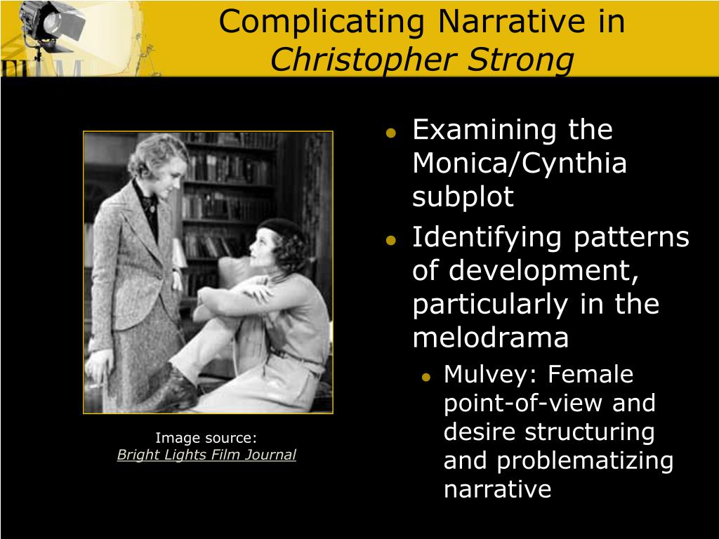 Complicating Narrative in