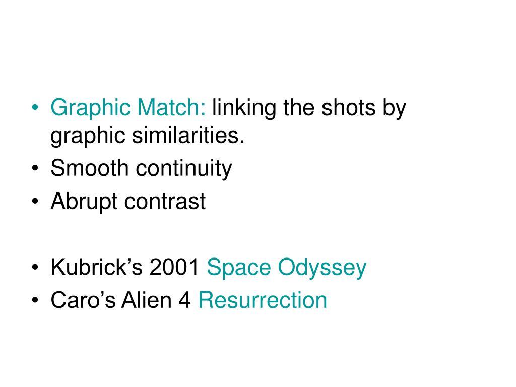 Graphic Match: