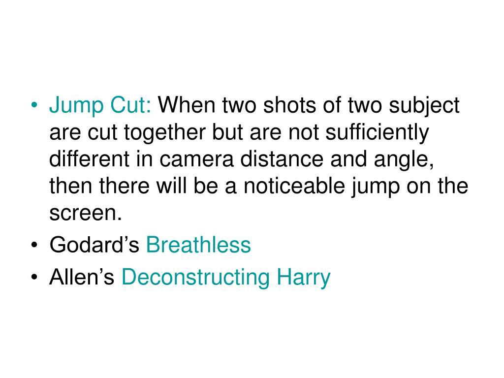 Jump Cut:
