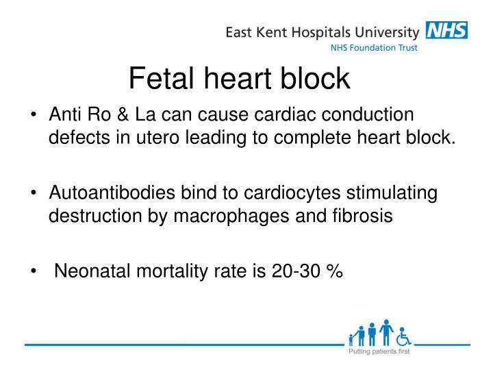 complete heart block case study A third degree av block (complete heart block) is where there is a complete  conduction block between the atria and the venticles, which results in no.