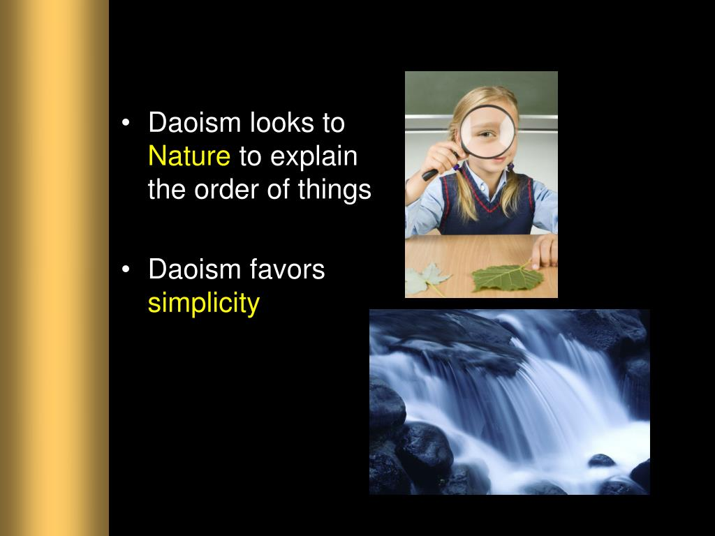 Daoism looks to