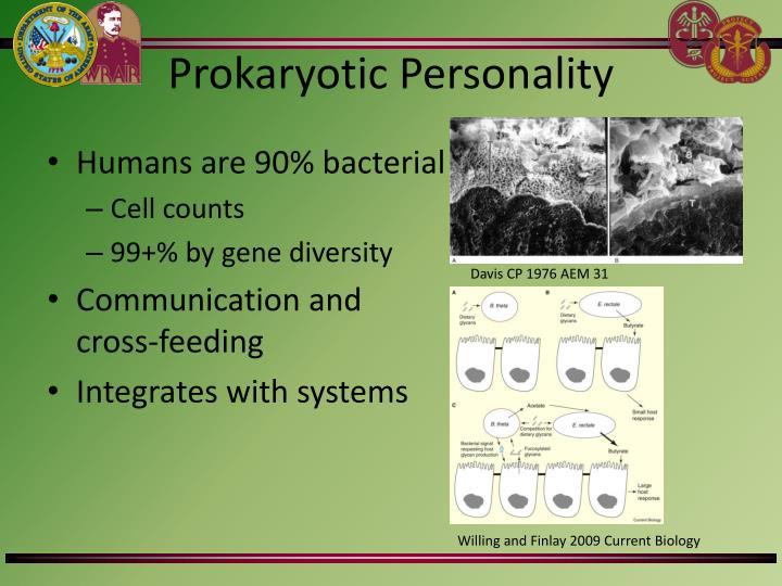 Prokaryotic Personality