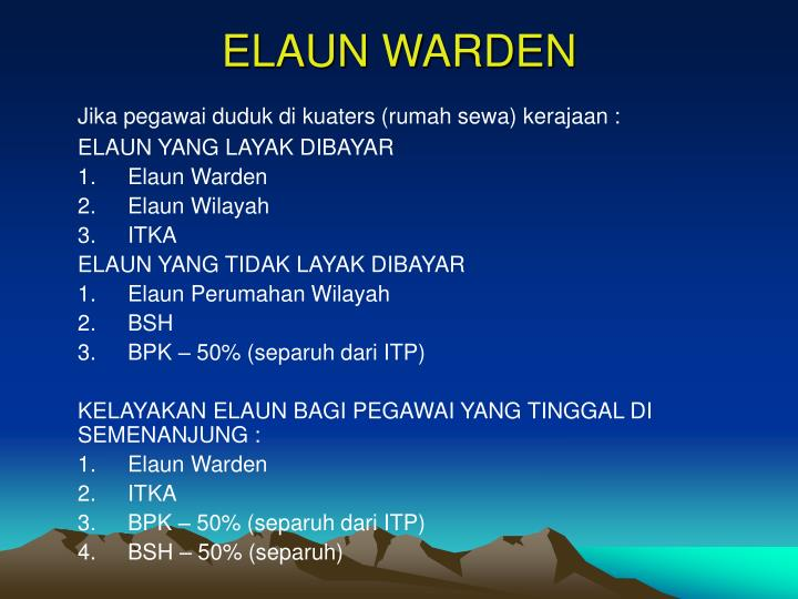 ELAUN WARDEN