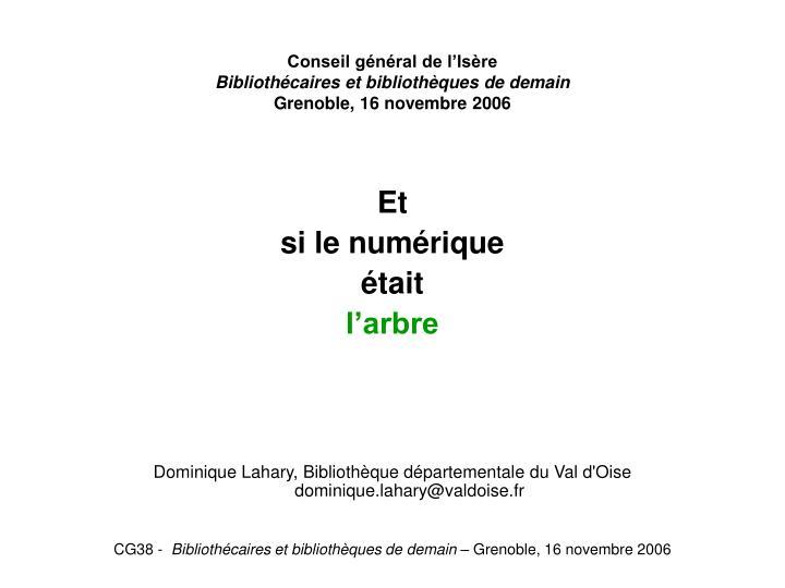 Conseil général de l'Isère