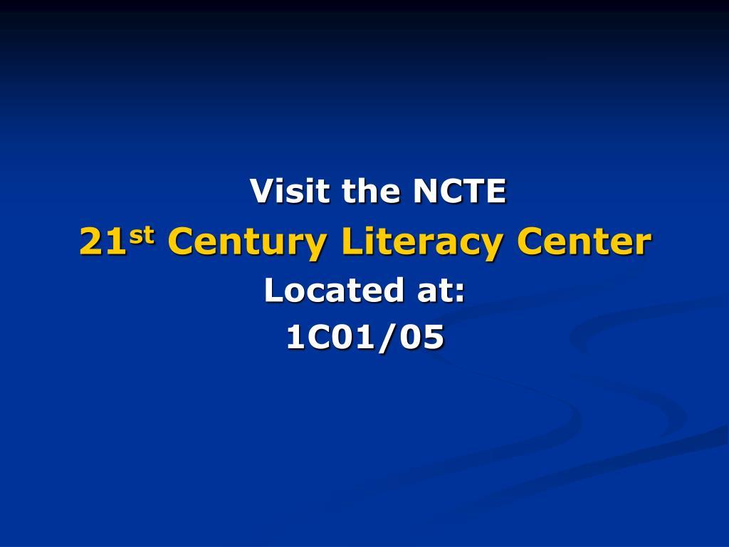 Visit the NCTE