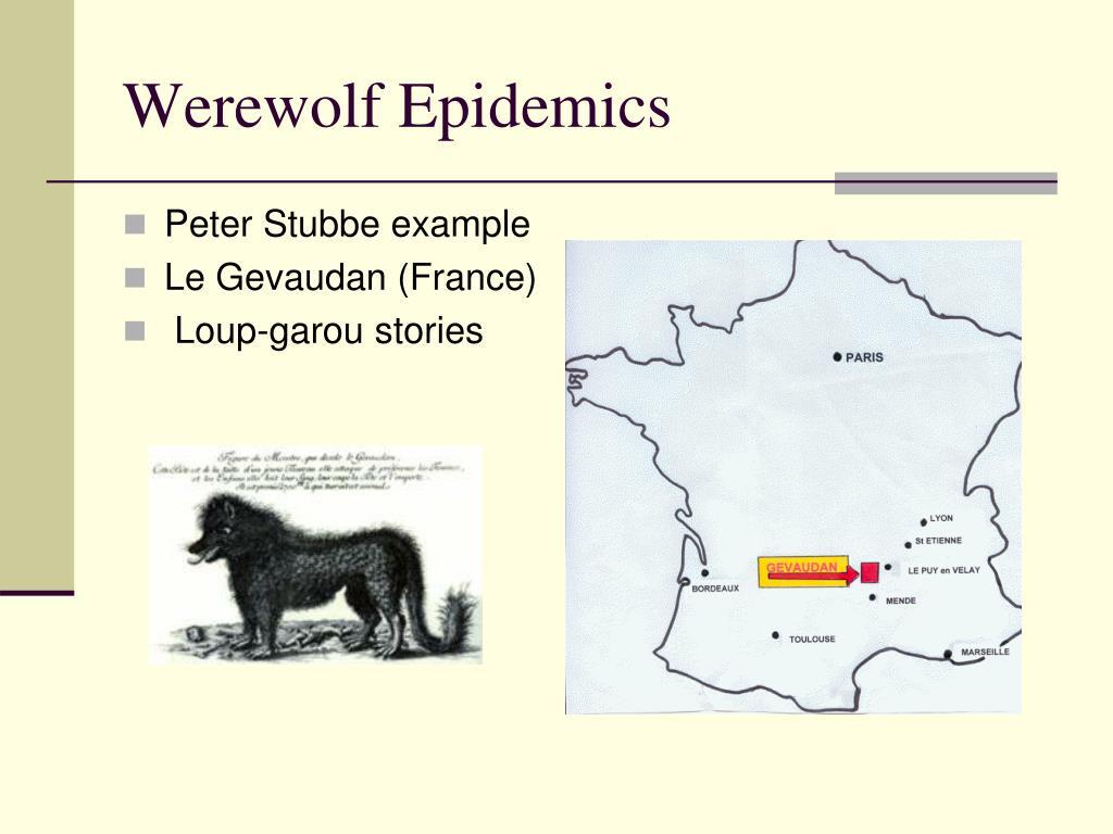 Werewolf Epidemics