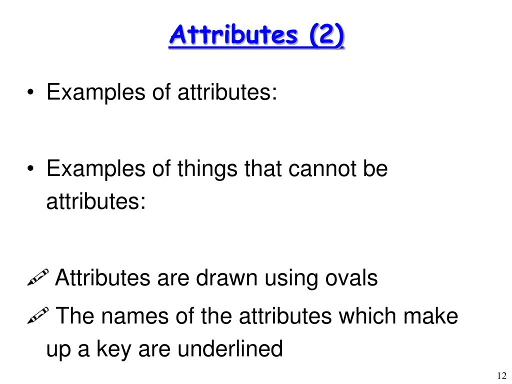 Attributes (2)