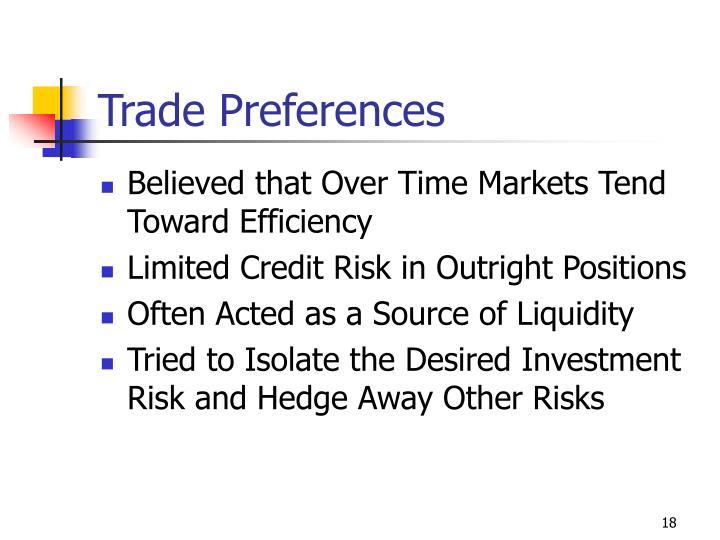 Trade Preferences