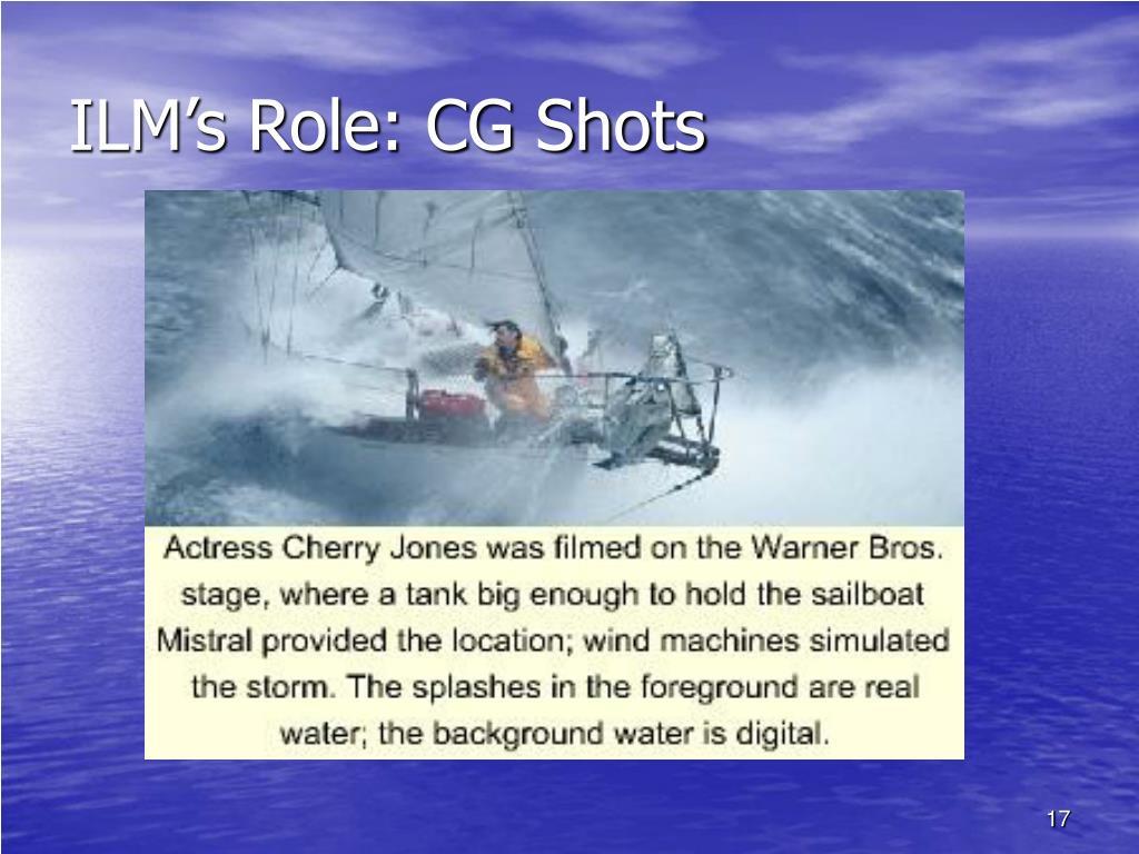 ILM's Role: CG Shots