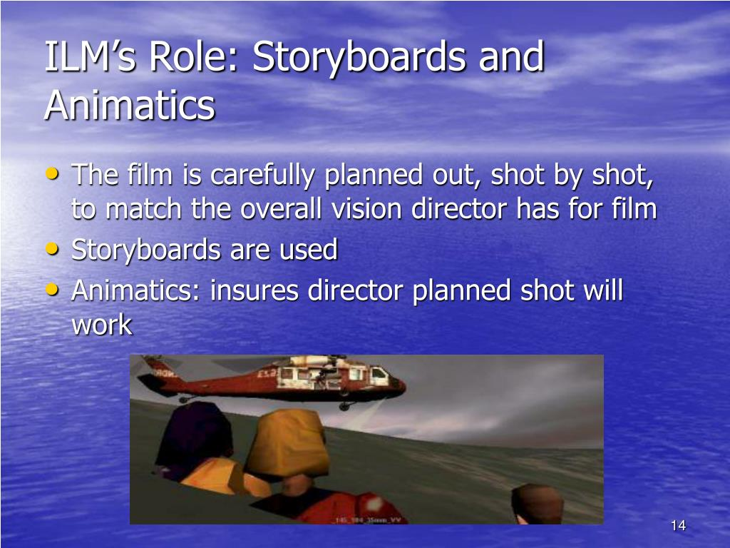 ILM's Role: Storyboards and Animatics