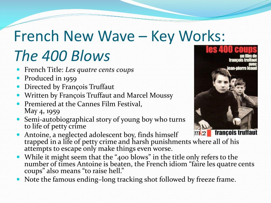French New Wave – Key Works: