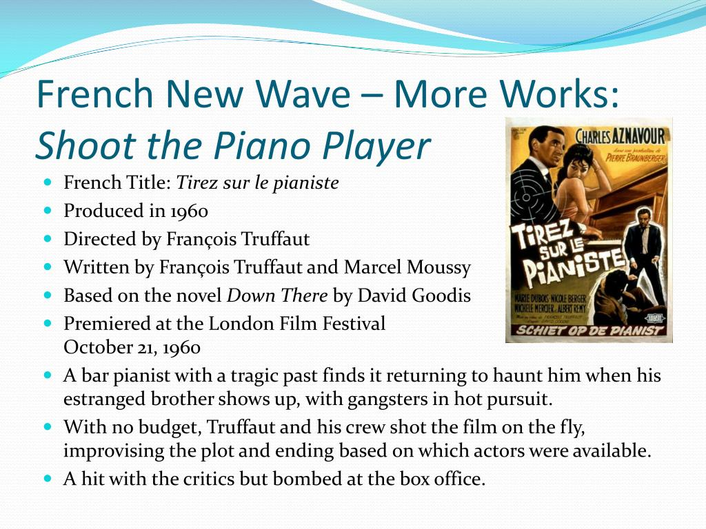 French New Wave – More Works: