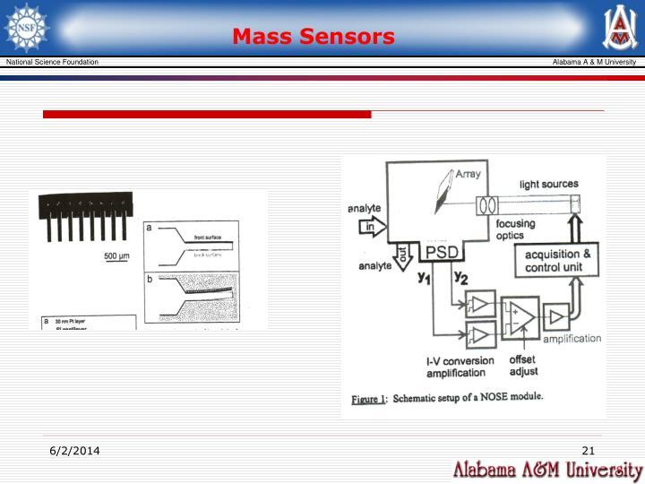 Mass Sensors