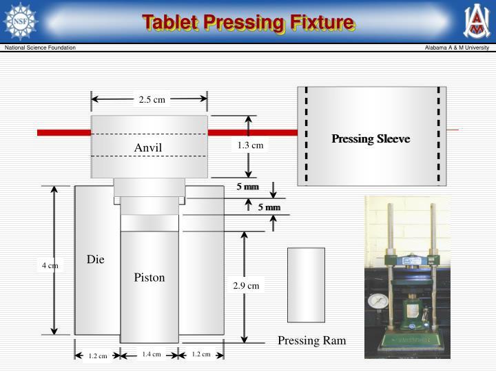 Tablet Pressing Fixture