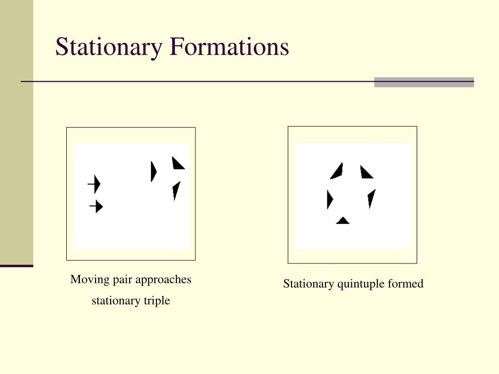 Stationary Formations
