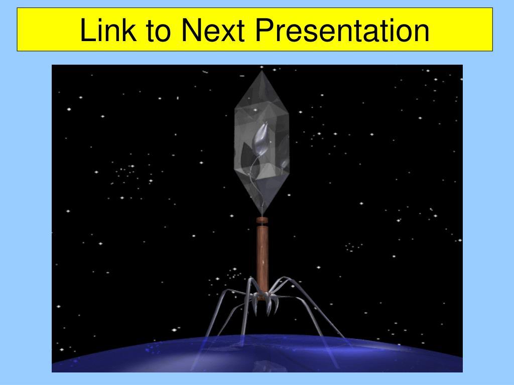 Link to Next Presentation