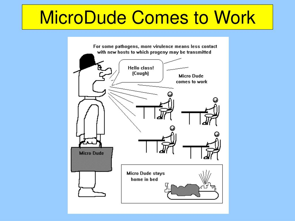 MicroDude Comes to Work
