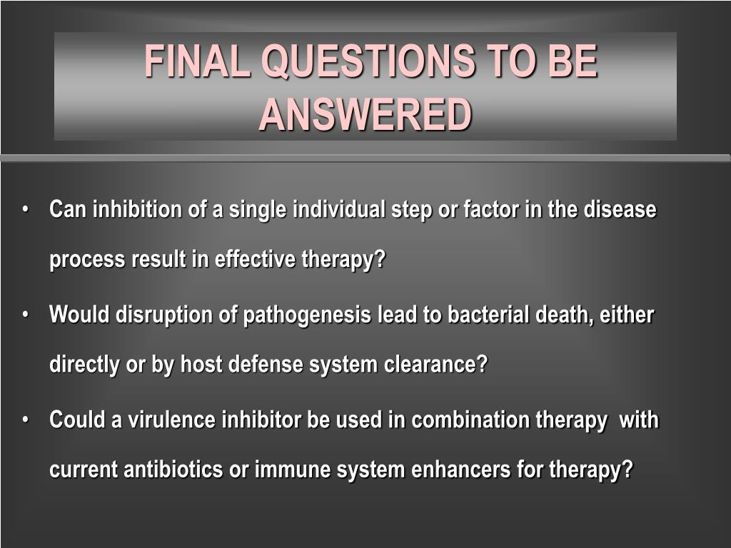 Can inhibition of a single individual step or factor in the disease process result in effective therapy?