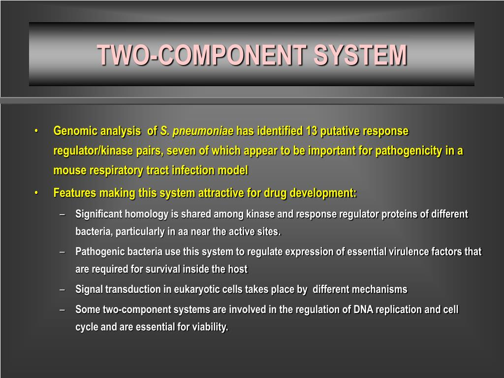 TWO-COMPONENT SYSTEM