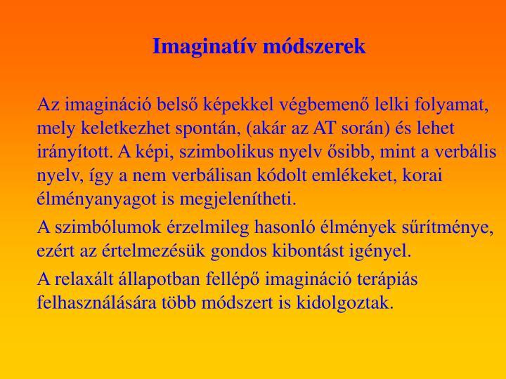 Imaginatív módszerek