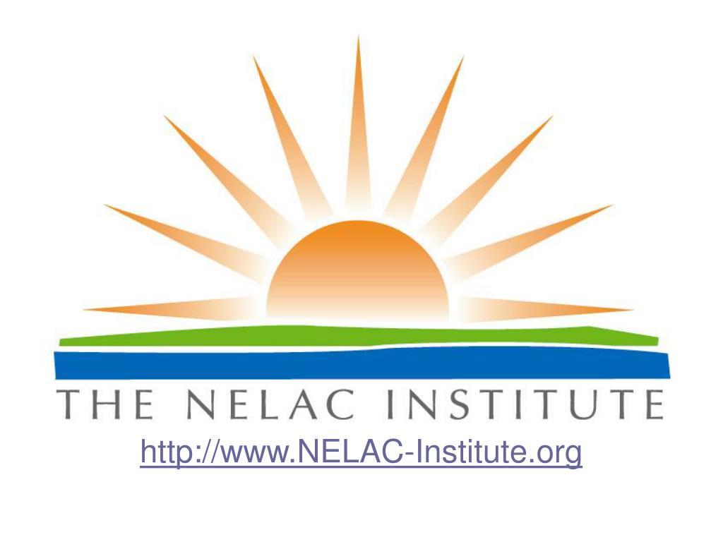 http://www.NELAC-Institute.org