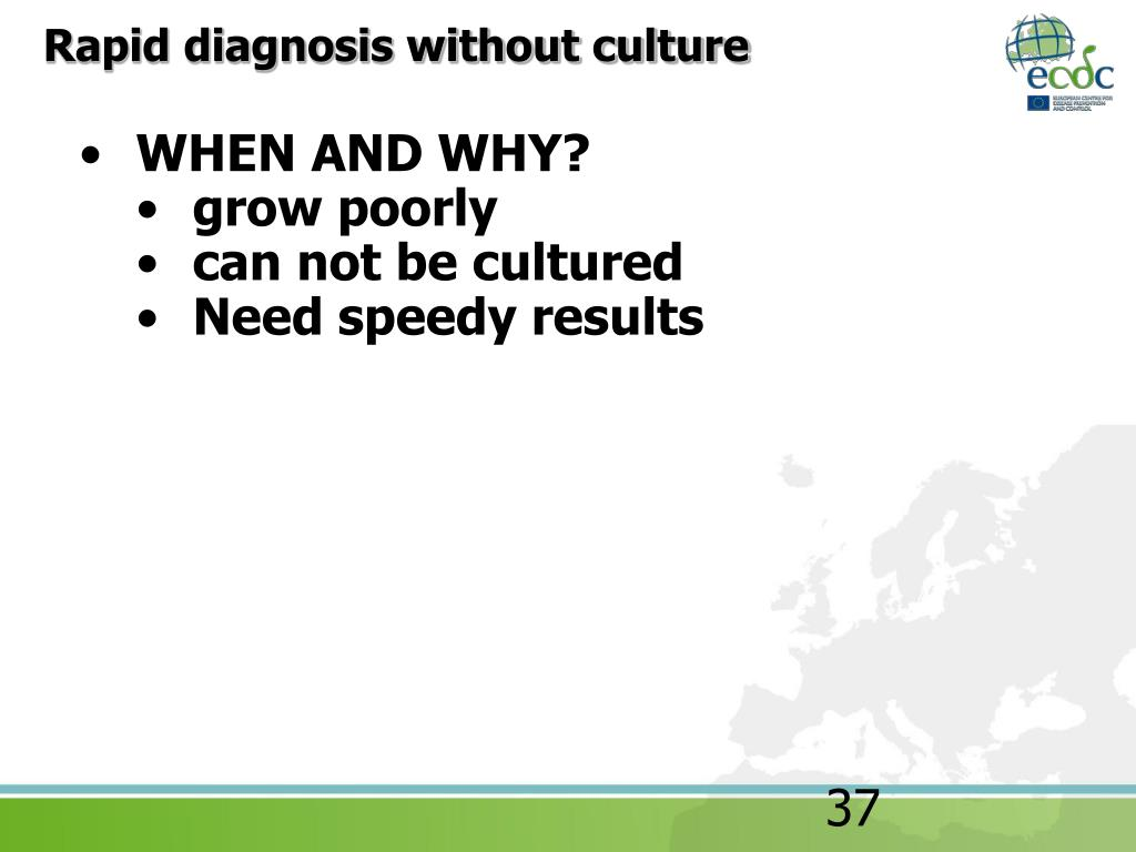 Rapid diagnosis without culture