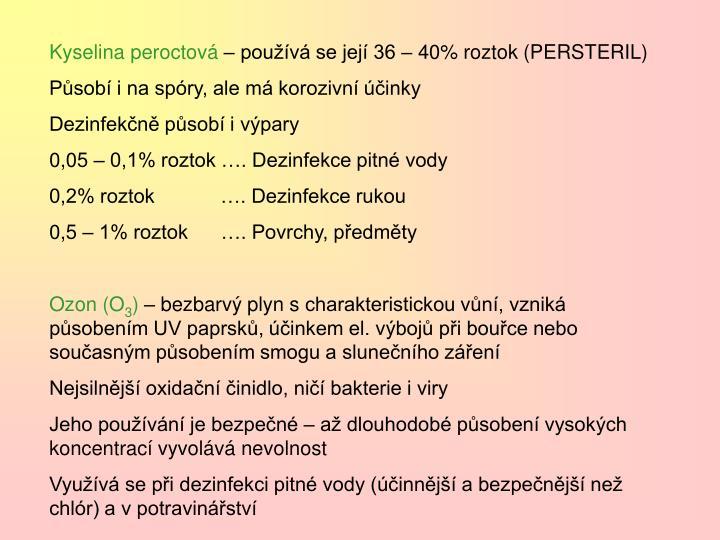 Kyselina peroctová