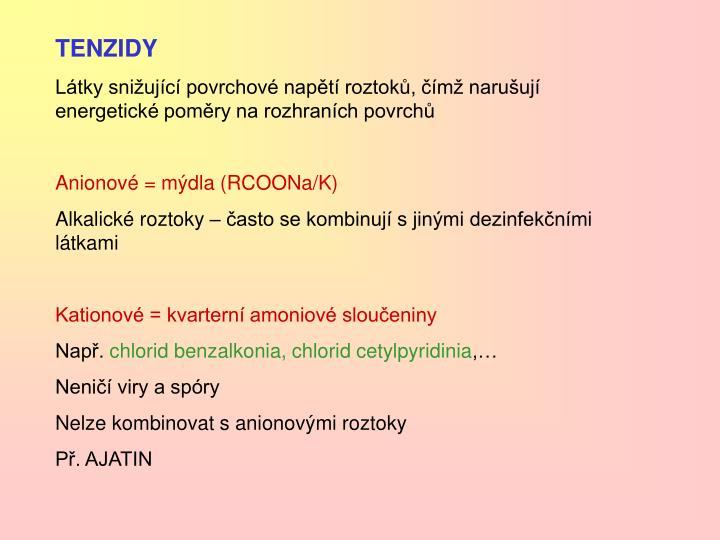 TENZIDY