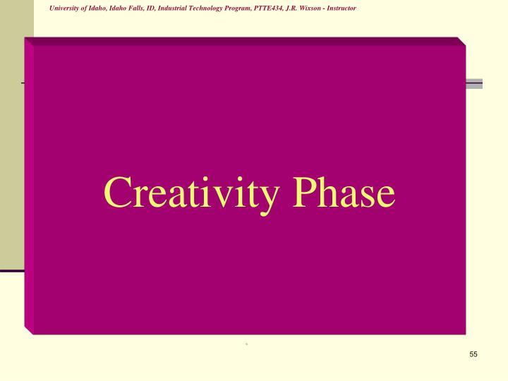 Creativity Phase