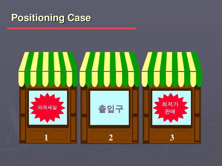 Positioning Case