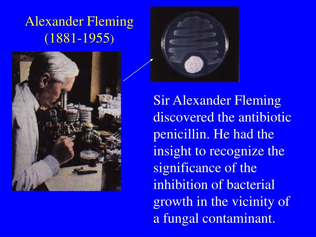 Alexander Fleming (1881-1955
