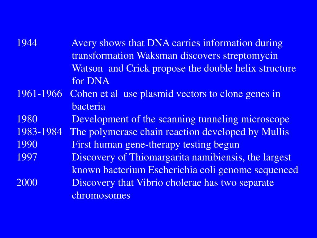 Avery shows that DNA carries information during