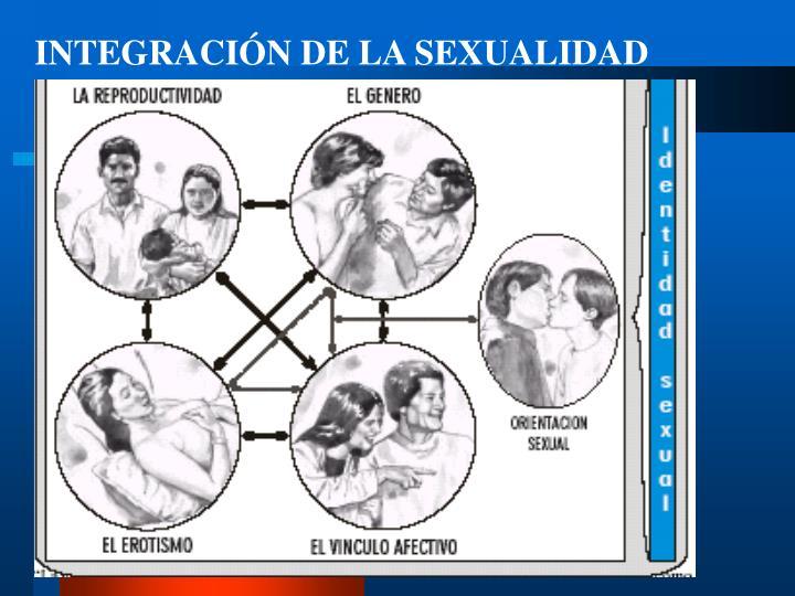 INTEGRACIÓN DE LA SEXUALIDAD