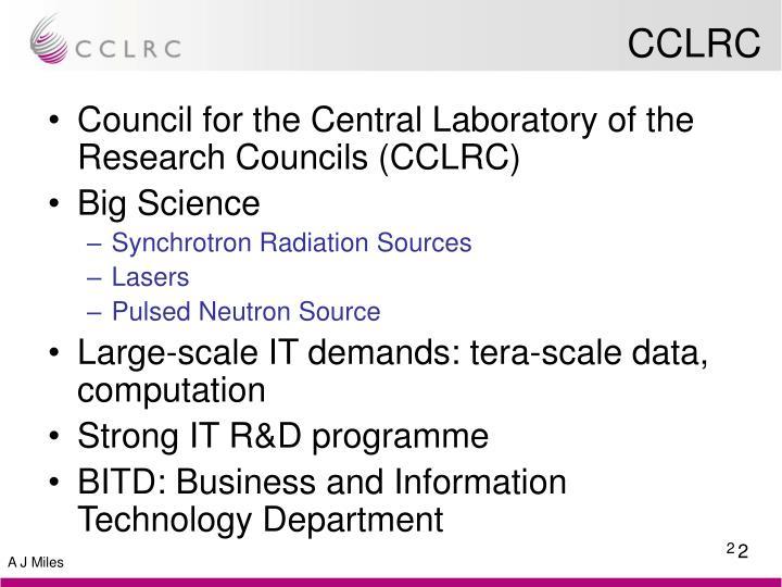 CCLRC