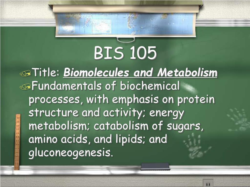 BIS 105