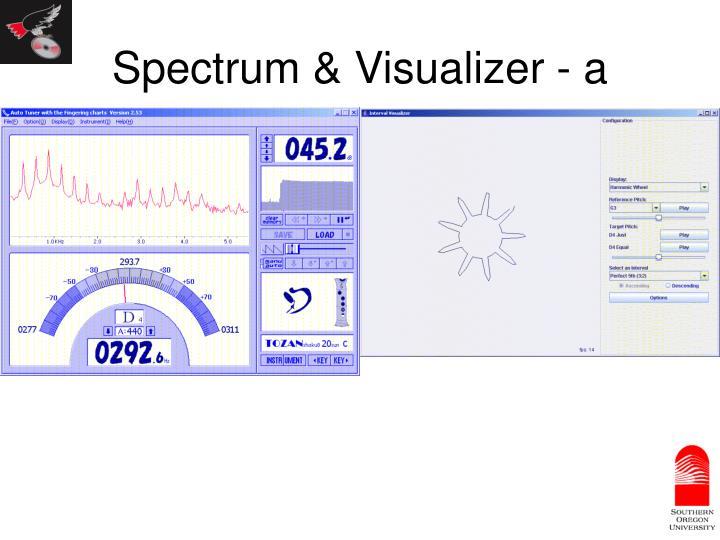 Spectrum & Visualizer - a
