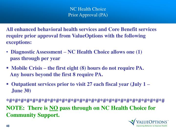 NC Health Choice