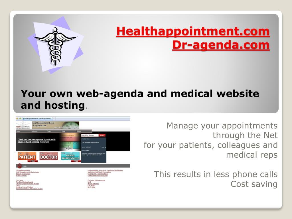 healthappointment com dr agenda com