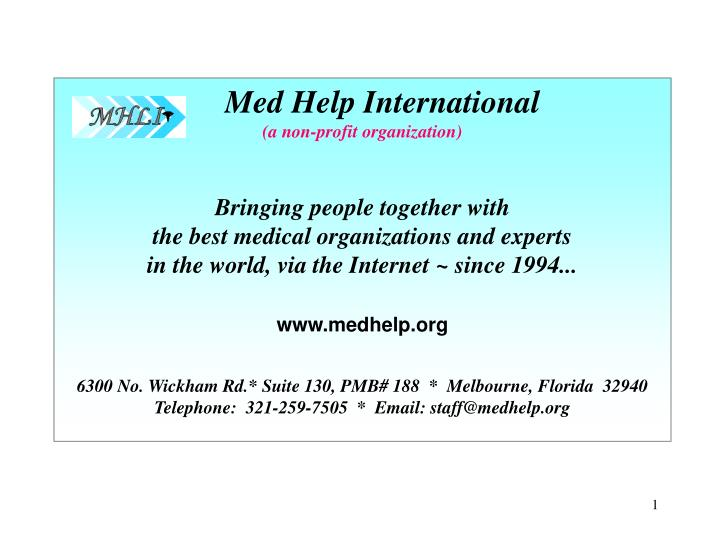 Med Help International