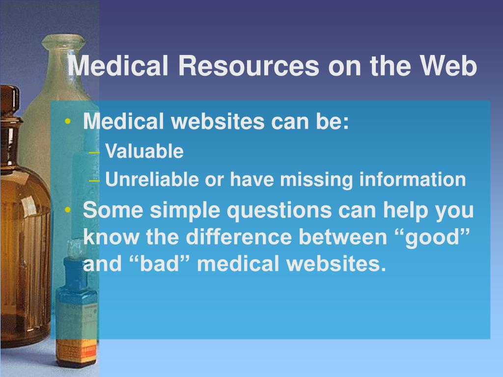 Medical Resources on the Web
