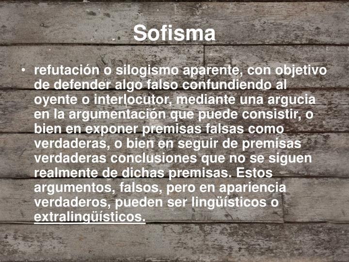 Sofisma