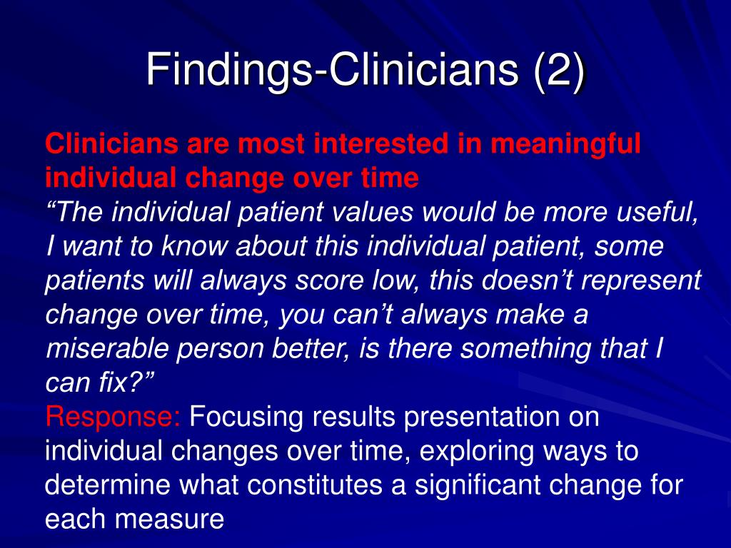 Findings-Clinicians (2)