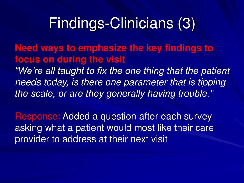 Findings-Clinicians (3)