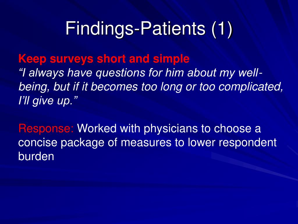 Findings-Patients (1)