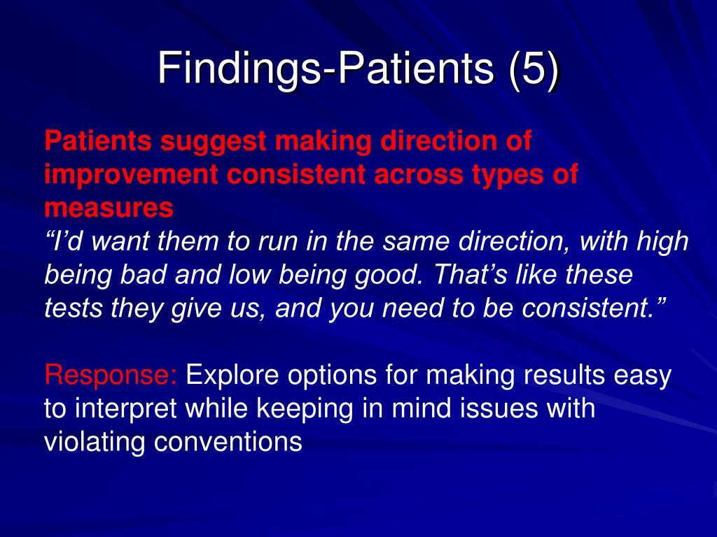 Findings-Patients (5)